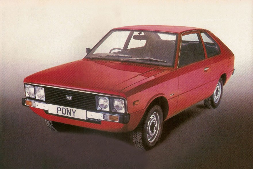 1982 Hyundai Pony