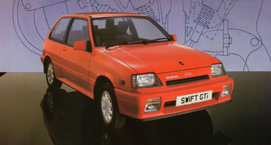 Hatch Heaven 187 Suzuki Swift 1 3 Gti 1986