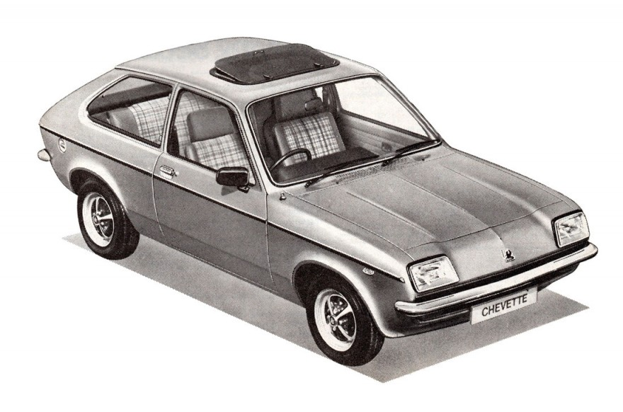 1980 Vauxhall Chevette Sun-Hatch