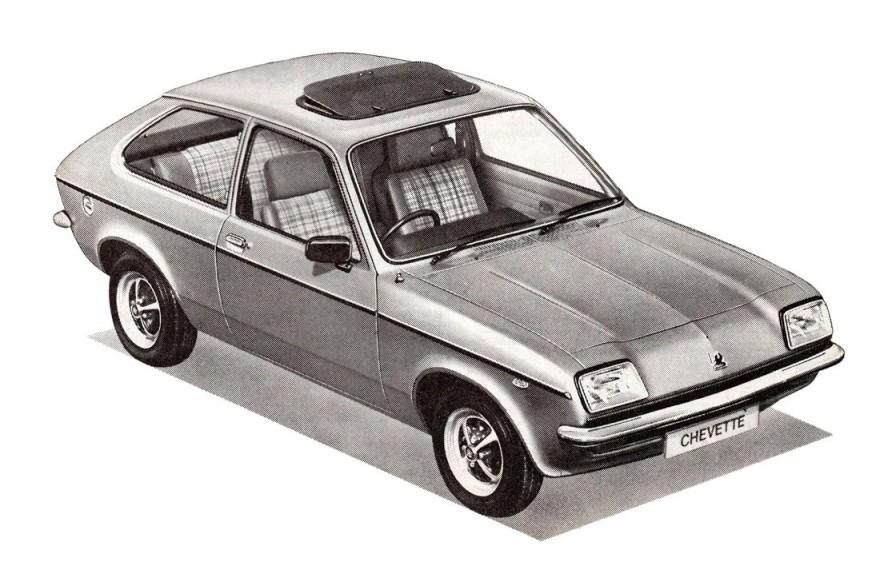 1980 Vauxhall Chevette Sun-Hatch