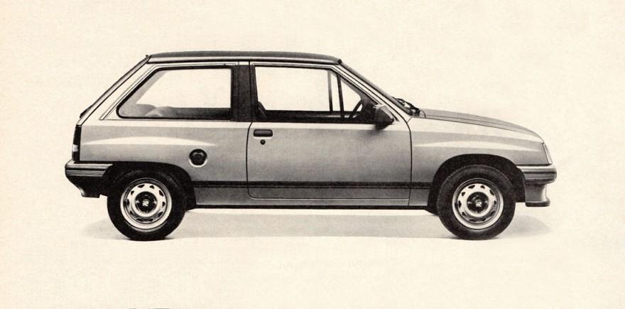1985 Vauxhall Nova 3-Door