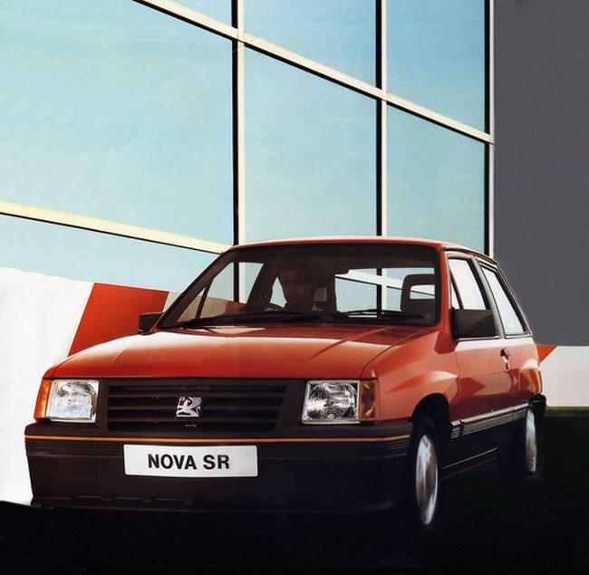 1984 Vauxhall Nova RS
