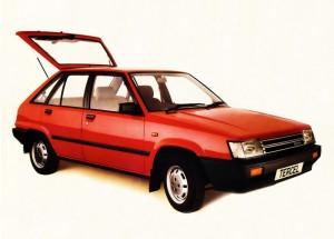 1980 Toyota Tercel 1.3GL